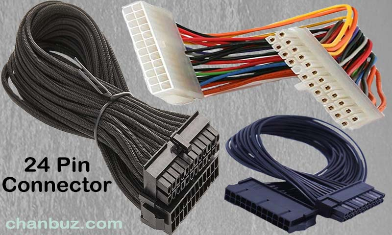 24 Pin Connector: #1 Power Extension Cable