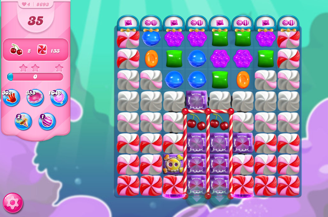 Candy Crush Saga level 8693