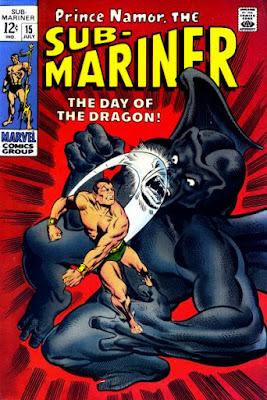 Sub-Mariner #15, Dragon Man