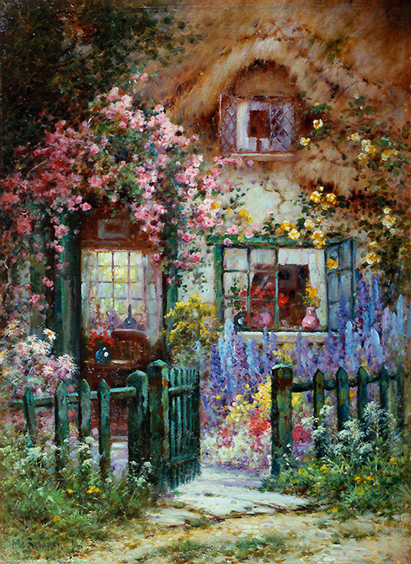 Alfred de Breanski e suas belíssimas pinturas
