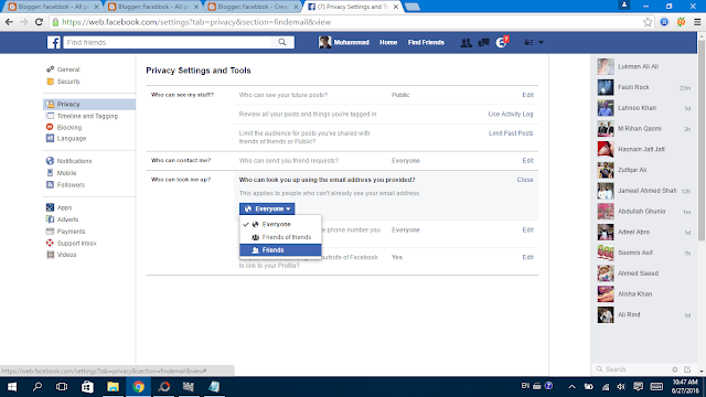 Facebook Privacy Settings 16