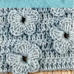 Punto Flor a Crochet