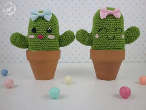 Tutorial Cactus a Crochet Paso a Paso
