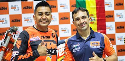 Fabricio Fuente y Juan Carlos Salvatierra.