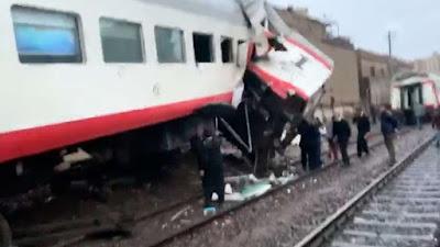 النائب العام يكشف تفاصيل جديدة في حادث تصادم قطاري إمبابة