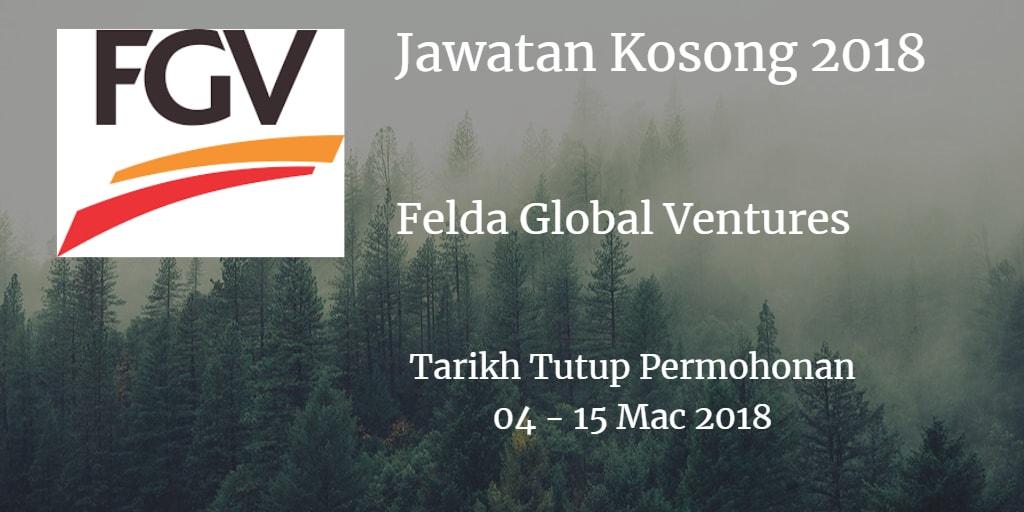 Jawatan Kosong FGV 04 - 15 Mac 2018