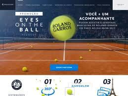 Promoção Peugeot Roland Garros