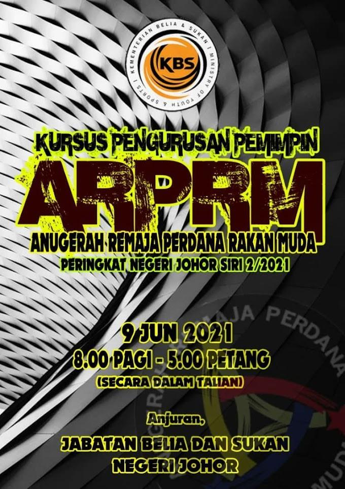 Penulisan Buku Rekod Anugerah Remaja Perdana (ARP)