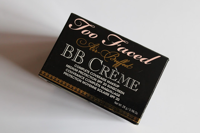 Swatchs BB Crème Sponge Cake Air Buffed too faced Vanilla Glow