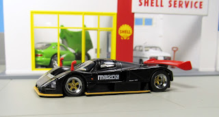 Kyosho Mazda 787B stealth test car