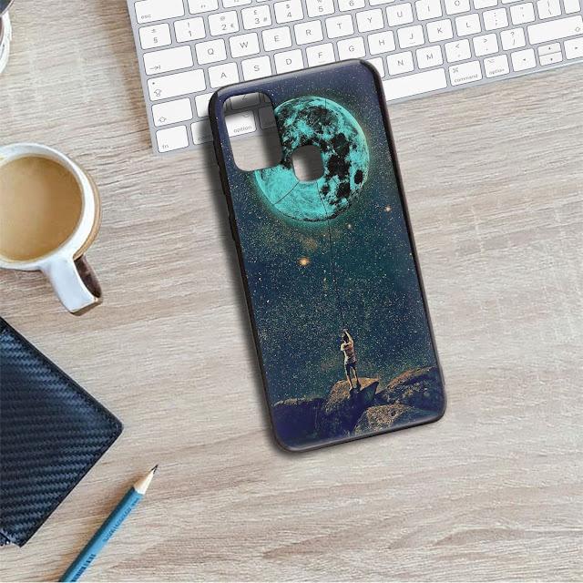 Mockup Blackmatte Case SAMSUNG Galaxy M31 Gratis