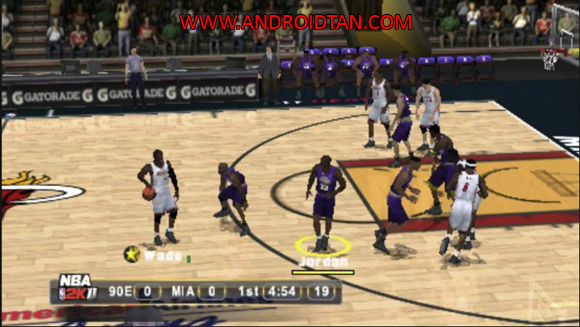 Free Download NBA 2K11 PSP/PPSSPP