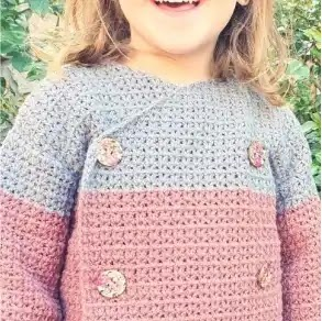 Abrigo Unisex Crochet