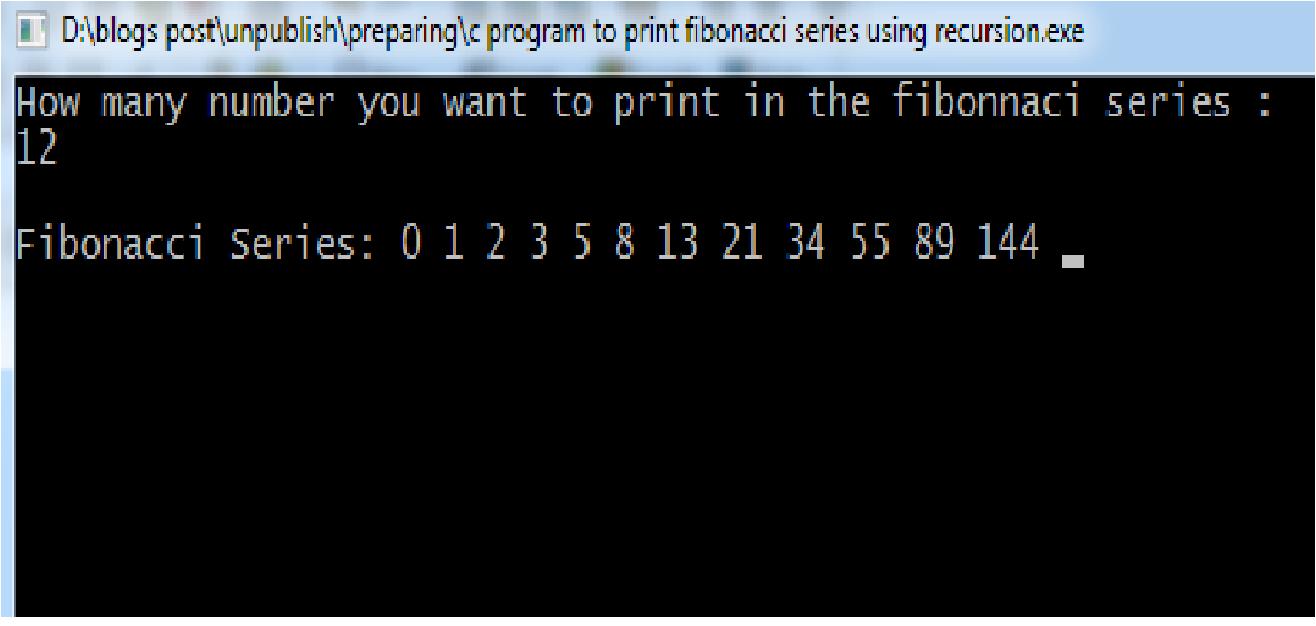 C Program to Sort n Numbers using Bubble Sort