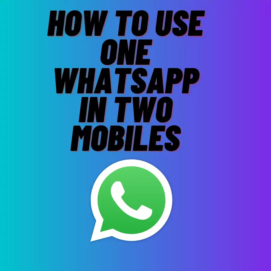 How to use one Whatsapp in two mobiles || Innocent Amit