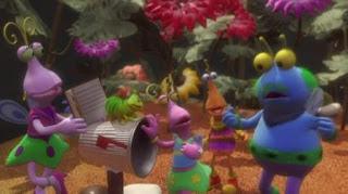 The Twiddlebugs, caterpillar, Sesame Street Episode 4419 Judy and the Beast season 44