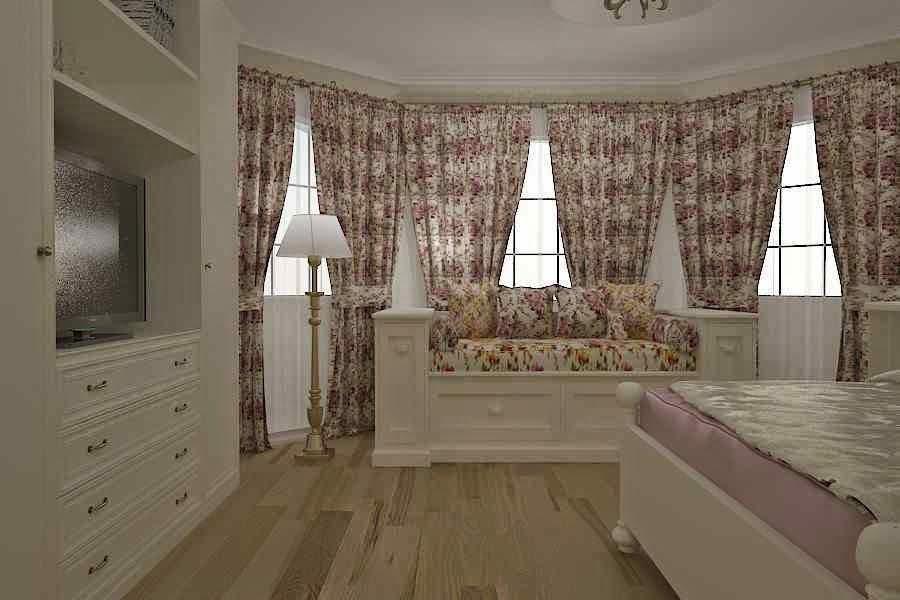 Design interior dormitor vila Constanta | Design interior vila stil clasic de lux