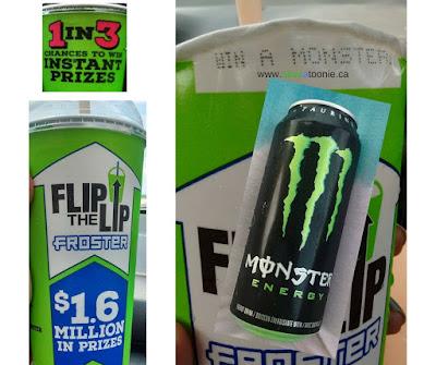 Macs Free Monster Energy Drink