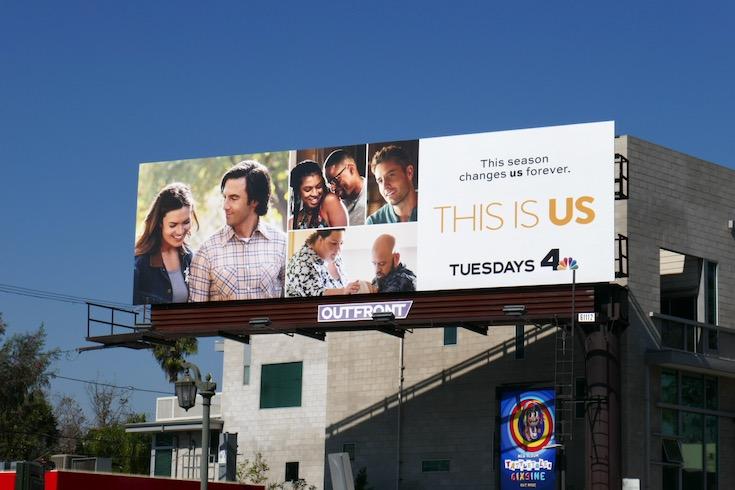 This Is Us season 5 billboard
