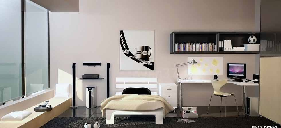 Dekorasi Keren Kamar Tidur Remaja Kamar Tidur Terbaru 2014