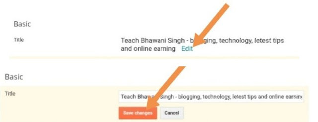 blogger me seo kaise kare, blogger me setting kaise kare hindi me