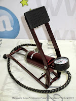 Pompa Kaki/Injak Genio Component Foot Pump dengan Meter