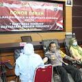 Polres Gunungkidul Gandeng PMI Gelar Donor Darah