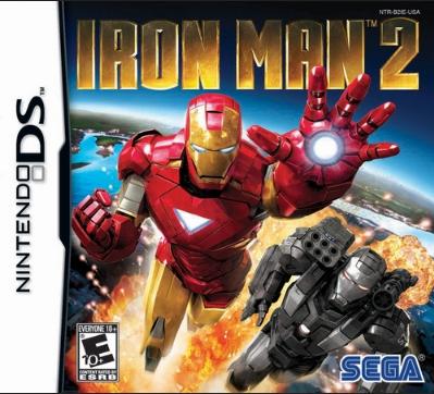 Descargar Iron Man 2 nintendo ds español mediafire y mega.