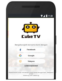 Dapat uang cube tv