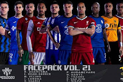 New Facepack Vol.21 - PES 2020
