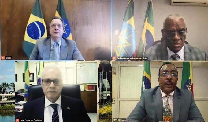 Internacional: Etiópia e Brasil realizam Segunda Consulta Política