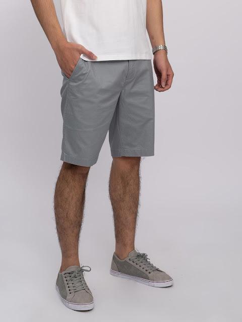 Mẫu quần short Kaki được nhiều người ưa thích