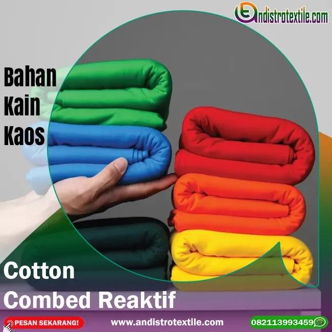 Jual Bahan Kaos Cotton Combed 24s Untuk Kaos Distro