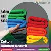 Jual Bahan Kaos Cotton Combed 24s Untuk Kaos Distro Kiloan Plus Rib
