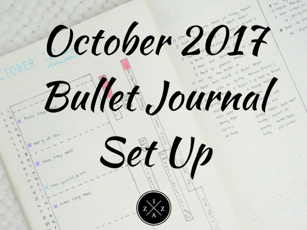 October 2017 Bullet Journal Set Up