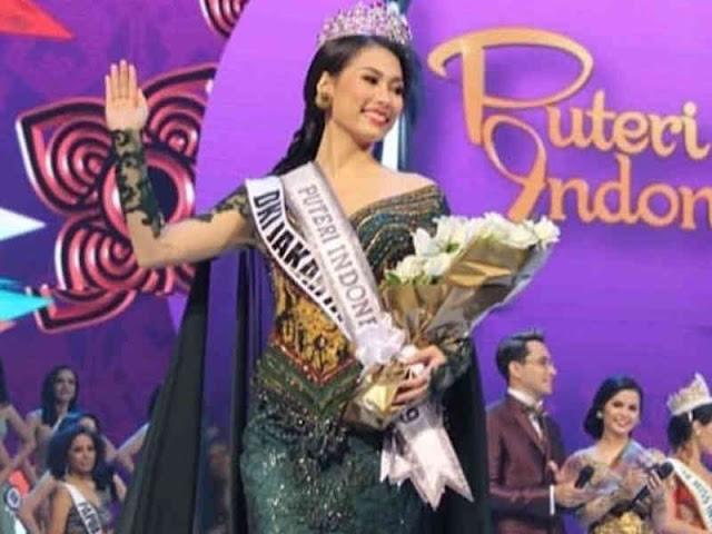 Frederika Alexis Cull dari DKI Jakarta jadi Putri Indonesia 2019