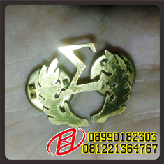 | PIN STAINLESS LENCANA | LENCANA PIN SECURITY | PIN BADGES