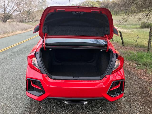 Trunk open on 2020 Honda Civic