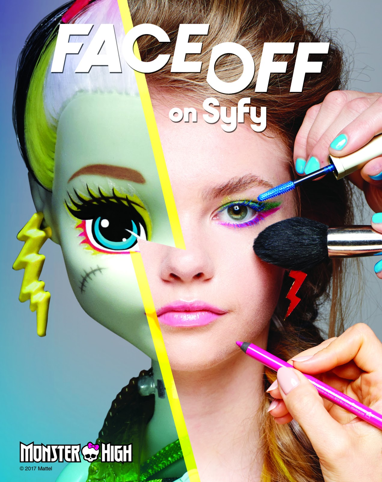 c443a7281ab Monster High on SyFy's Face-off - Monster High Dolls .com