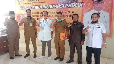 Ketua Komisi Informasi Riau Kunjungi PPID Kabupaten Pelalawan