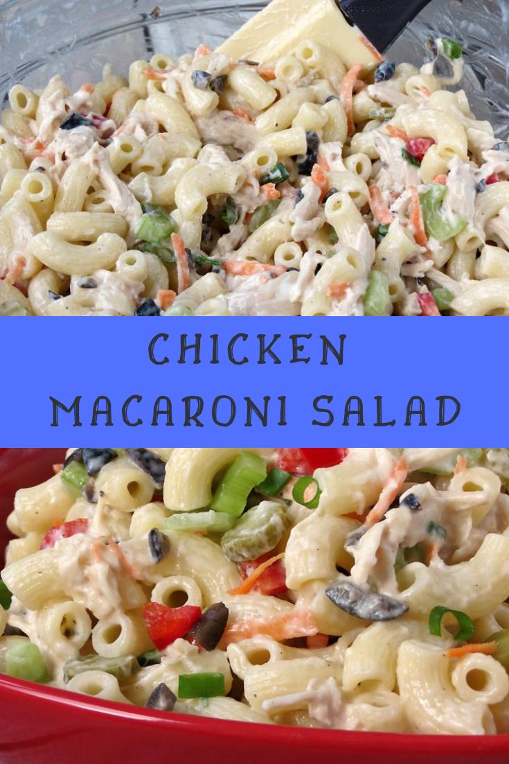 Chicken Macaroni Salad Recipe