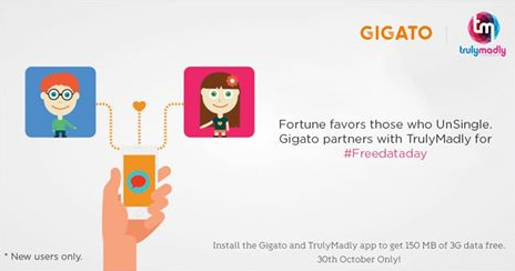 Hurry) Gigato Loot - Get 150 MB 3G Data Free for Downloading