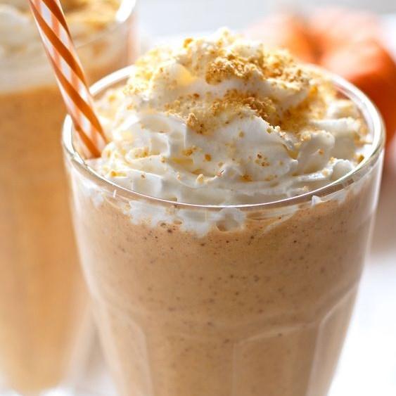 Pumpkin Pie Milkshake #Summer #Drinks