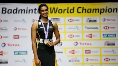 PV Sindhu wins Batminton World Championship