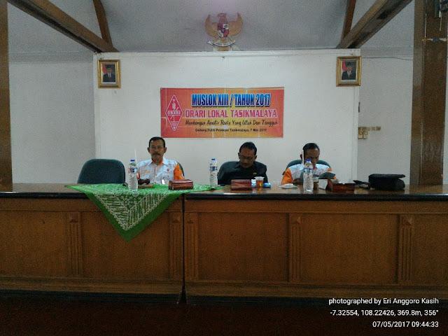 Suasana muslok XIII Lokal Tasikmalaya tahun 2017.