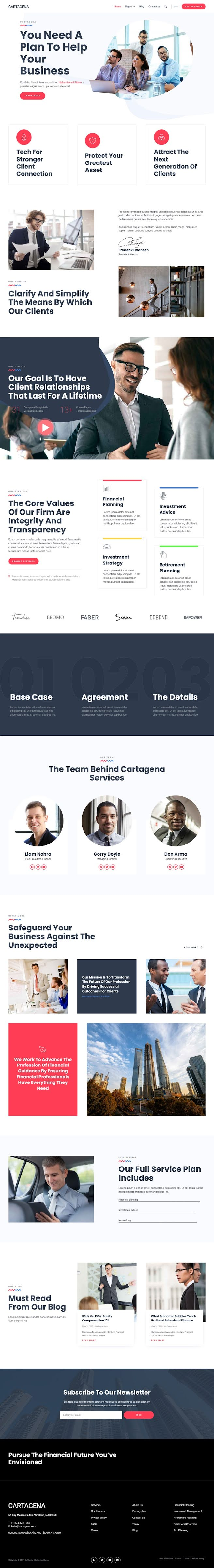 Corporate Business Elementor Template Kit