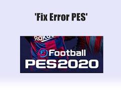 Beberapa Error yang Sering Terjadi di Game PES