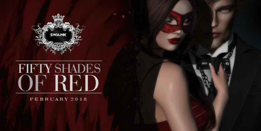 BASICOS INSTINTOS: SWANK EVENT: 50 shades of Red 1