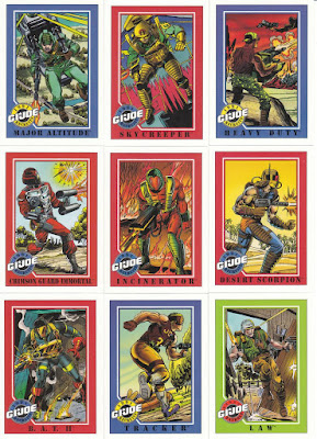 Impel GI Joe trading cards 1991. Image source: www.addoway.com
