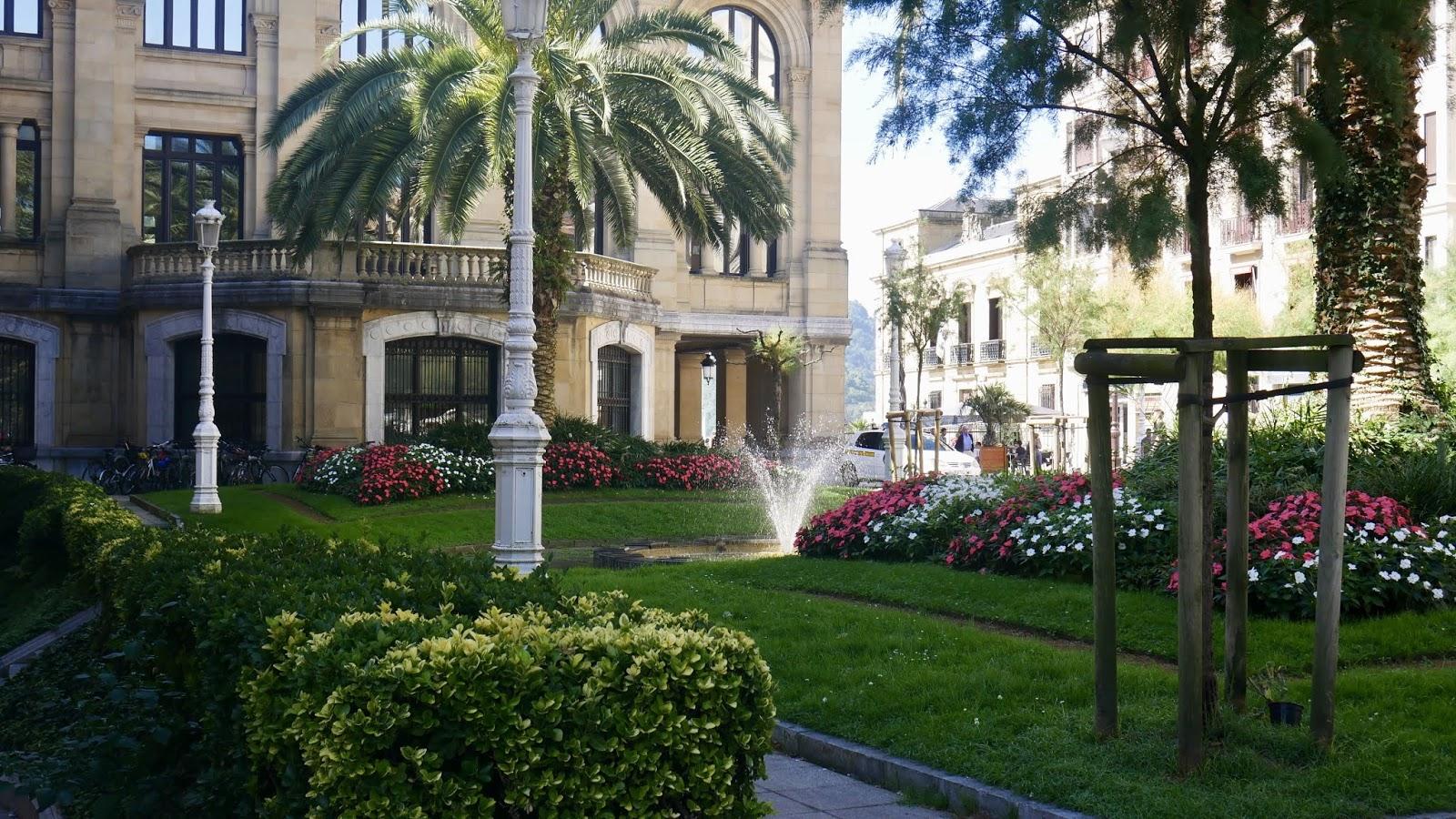 Parc bibliothèque municipale Saint-Sébastien Pays Basque Espagne